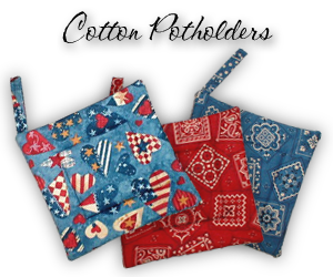 cotton potholders