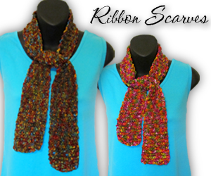 ribbon scarves